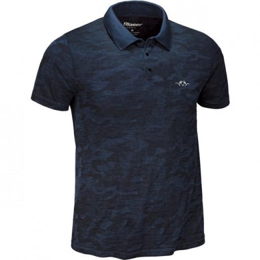 Tricou Polo Blaser Argali 3.0 Dark Blue