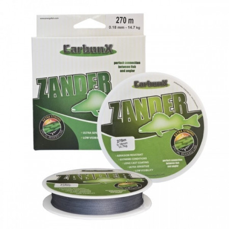 Poze Fir Carbon X Zander, diametrul 0,15mm, L- 10m;