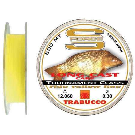 Poze Fir monofilament S-Force Long Cast Carp 500m Trabucco