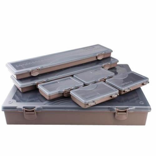 Set 7 cutii pentru accesorii crap ProLogic