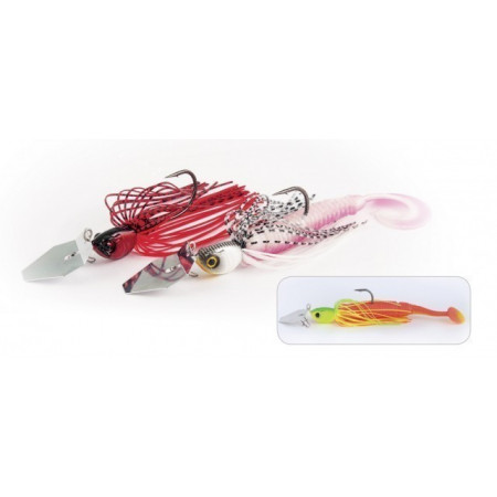Poze Spinnerbait Windex Chatterbait Texas Red 14g Rapture