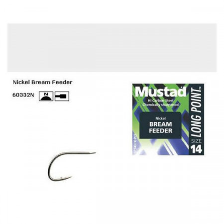 Poze Carlig Mustad Bream Feeder 60332N /10buc.
