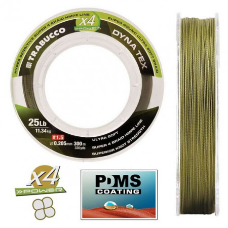 Poze Fir X4 Power Moss Green, 300m Trabucco
