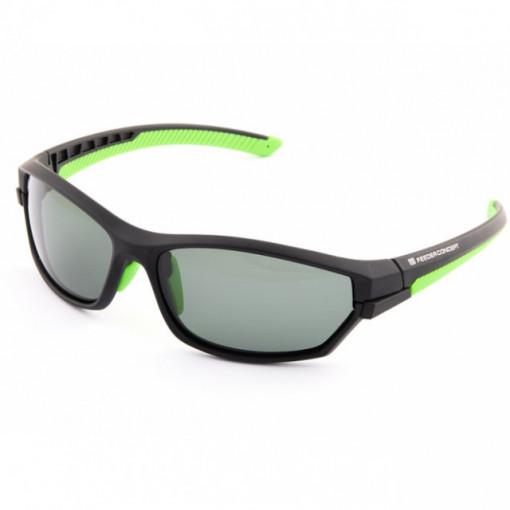 Ochelari polarizati Norfin, lentile interschimbabile, verde-galben