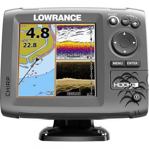 Sonar Lowrance Hook-5 Chirp DSI Chartplotter
