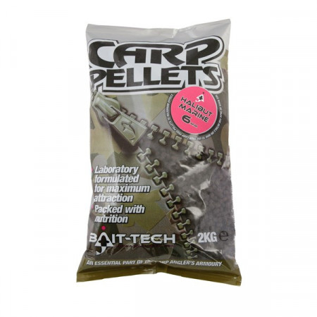 Halibut CARP FEEDER Pellets 2kg Bait-Tech