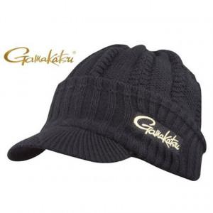 Fes tricotat negru logo Gamakatsu