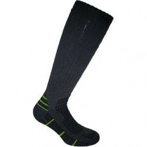 Ciorapi lungi gri din lana Primavera
