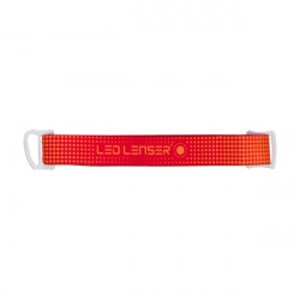 Elastic Rosu pentru Lanterna SEO5 Led Lenser