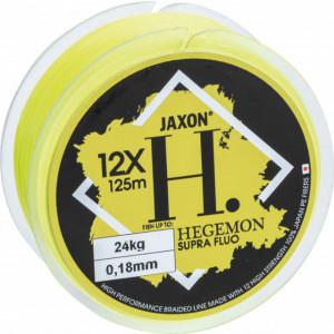 Fir Textil Jaxon Hegemon Supra 12 X, galben fluo, 125m
