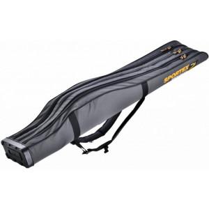 Husa Rigida Sportex Super Safe III Grey, 3 Lansete + 3 Mulinete