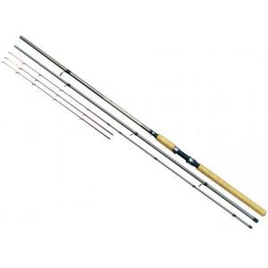 Lanseta fibra de carbon Feeder 3604   3,60m / 3+2 tronsoane / 40-80g Baracuda