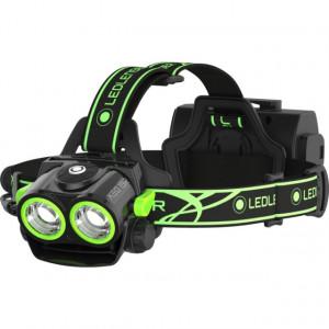 Lanterna Led Lenser  XEO19R Black/Green, 2000 Lumeni