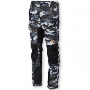 Pantaloni camuflaj gri Savage Gear