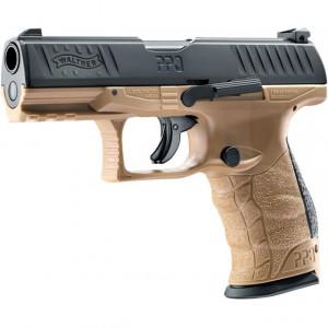 Pistol airsoft CO2 Walther PPQ M2 T4E FDE calibru 43 5J Umarex