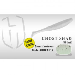 Shad Ghost 10cm Ghost Luminous Fluoresscent Herakles
