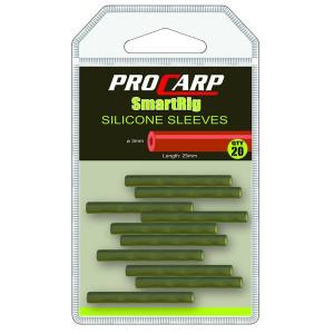 Silicon  sleeves ProCarp 3mm/ 2,5mm/ 20 buc/plic Cormoran