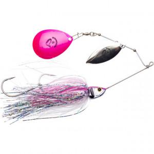 Spinnerbait Savage Gear Da Bush, Pink Flash, 14cm, 21g