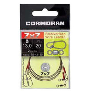 Struna 7x7 / 30cm / 13kg / 2buc/plic Cormoran