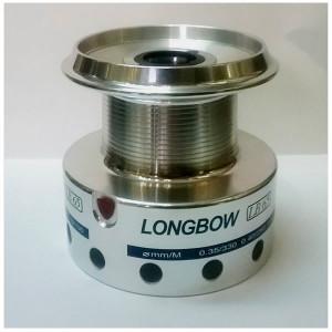 Tambur aluminiu mulineta Okuma Longbow Baitfeeder 80