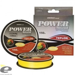 Fir Power Braid Teflon galben fluo 150m EnergoTeam