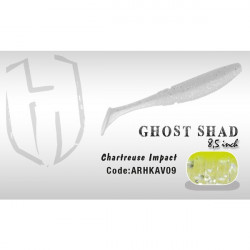 Shad Ghost 8.5cm Chartreuse Impact Herakles
