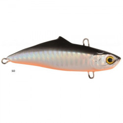 Vobler Pro Under Silent Max,Silver Orange, 7.5cm, 19g Rapture