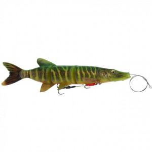 Vobler Swimbait Savage Gear 4D Line Thru Pike SS03, 25cm, 105g