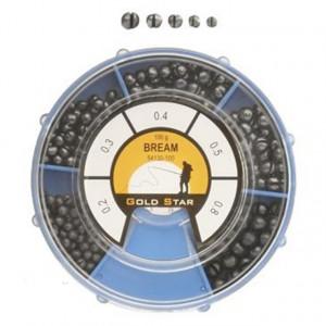 Set plumbi despicati Gold Star Bream, 100g