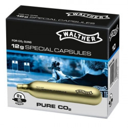 Capsule CO2 Airsoft 12g / 10buc Walther