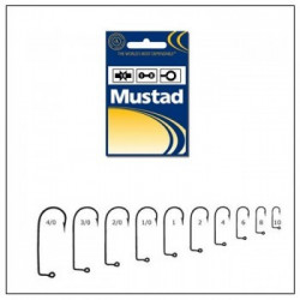 Carlig negru nichel pentru twister Mustad 100buc/plic