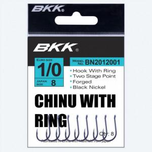 Carlige BKK Chinu-R Diamond, Black Nickel