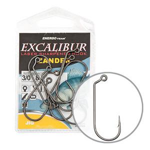 Carlige Excalibur Zander Jig, 6buc