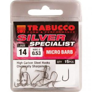 Carlige Silver Specialist 15 buc/ plic Trabucco