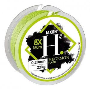 Fir textil Jaxon Hegemon 8X Flash, verde fluo, 150m