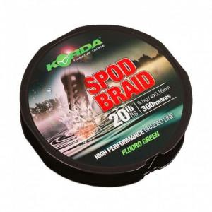 Fir textil Spod Braid Verde 0,16/ 9,1kg / 300m Korda