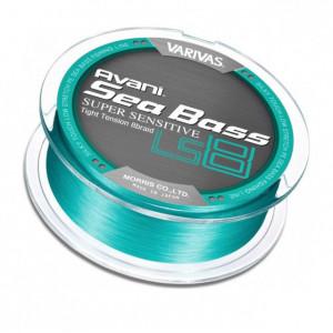 Fir textil Varivas Sea Bass Super Sensitive PE LS8, Blue Green, 150m