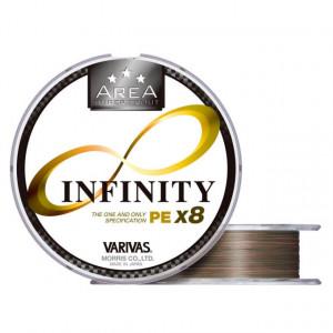 Fir Varivas Super Trout Area Infinity PE X8, auriu, 75m