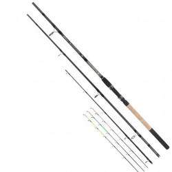 Lanseta Black Fighter Power Feeder 4,20m / 3+3 segmente EnergoTeam