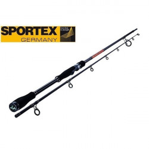 Lanseta Black Pearl Spin 2.40m / 35-49g / 2 tronsoane Sportex