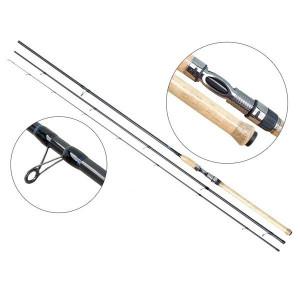 Lanseta fibra de carbon Master Match 4203 / 4,20m / 7-15g / 3 tronsoane Baracuda