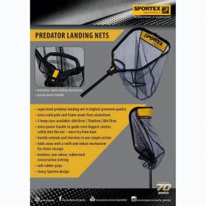 Minciog Sportex Predator, 60x50cm