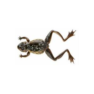 Naluca Soft Frog Negru 12cm/16g Cormoran