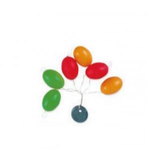 Plutitoare colorate pentru monturi, marime M, 6 buc