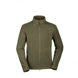 Pulover Hannes Fleece Olive Blaser