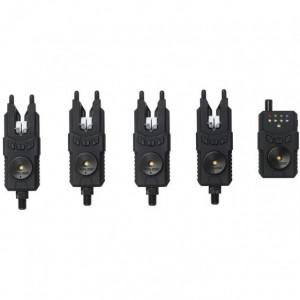 Set 4 avertizoare wireless cu statie Prologic Custom SMX MkII WTS
