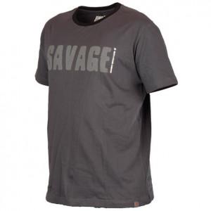 Tricou Simply gri Savage Gear
