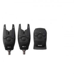 Trusa 2 avertizoare electronice + reciver Bat Blue Prologic