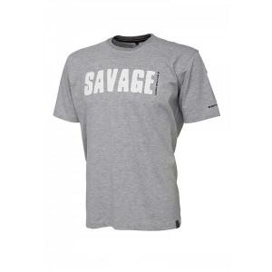 Tricou Simply Light Gray Savage Gear