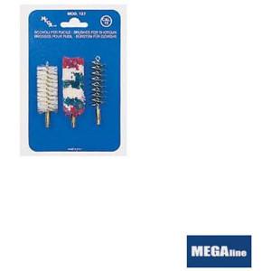 Set perii pentru curatat arma calibru 12mm/ 3buc/ plic Megaline